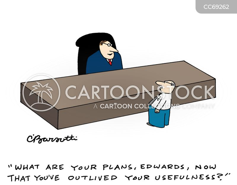 lay offs cartoon