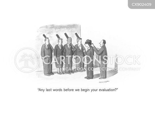 last words cartoon