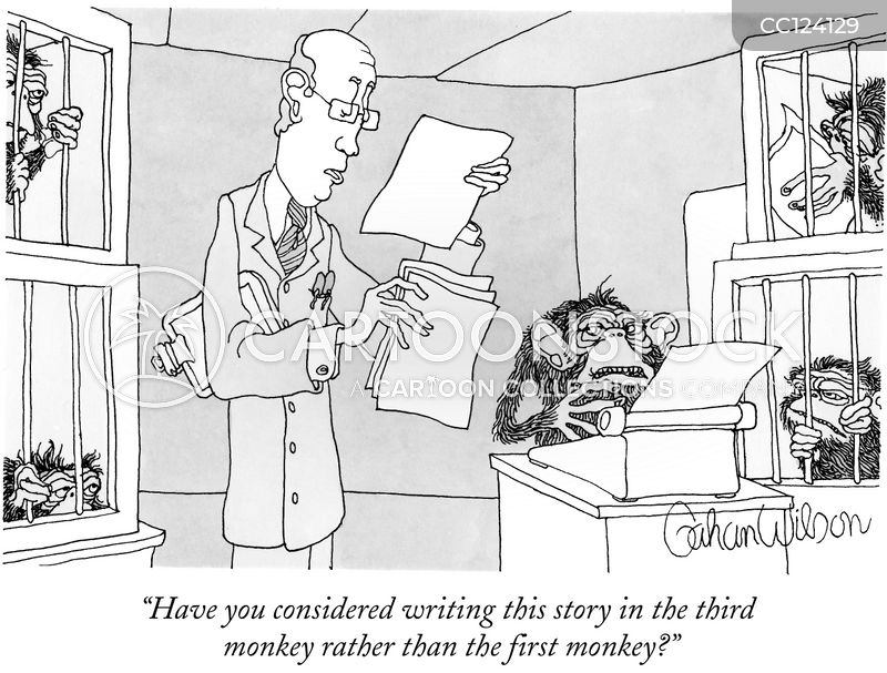 literary critics cartoon