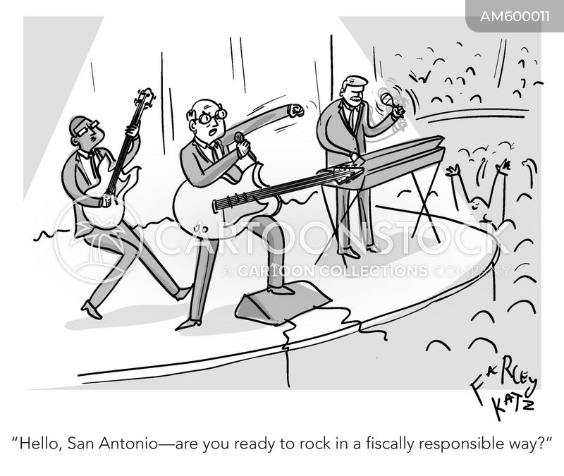 rock stars cartoon