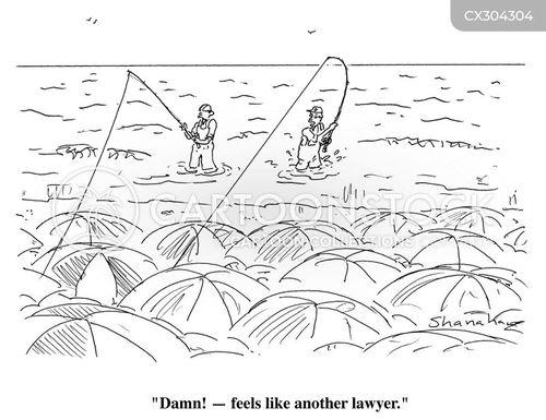 angling cartoon