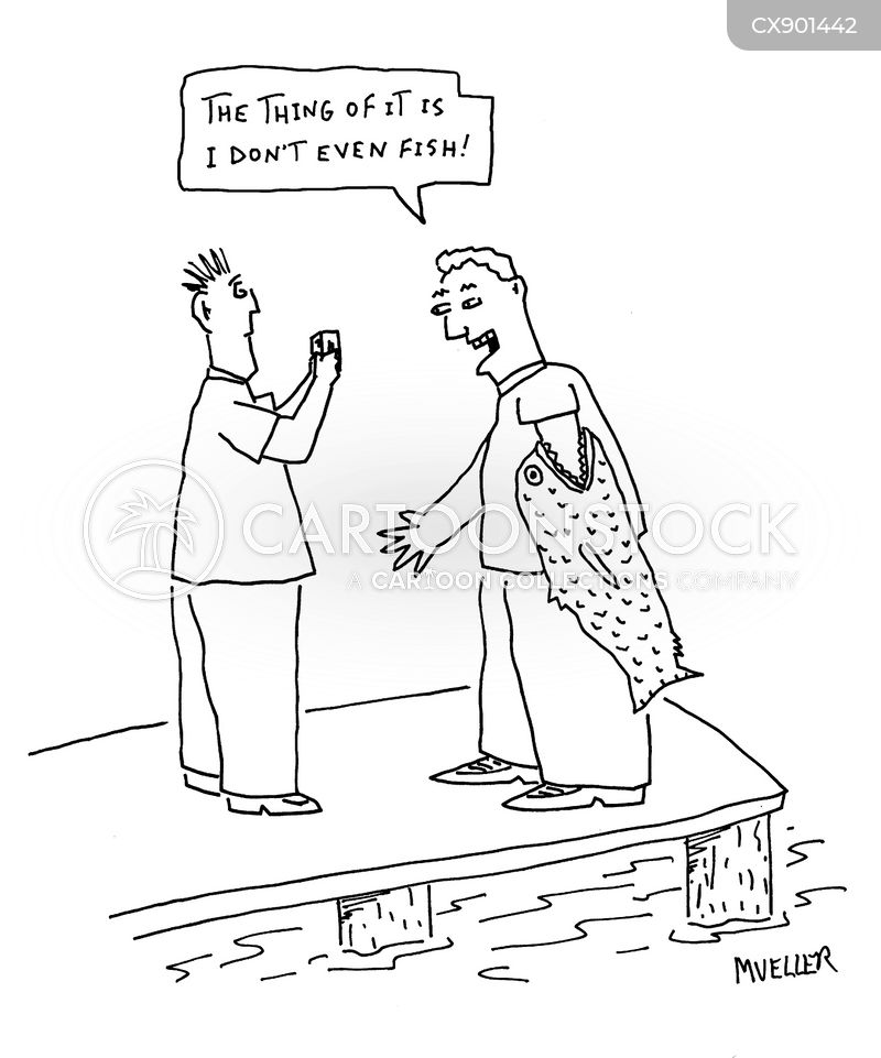 attached cartoon
