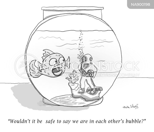 social interactions cartoon