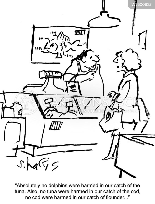 fishmongers cartoon