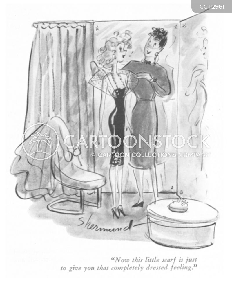 1940 clothes cartoon