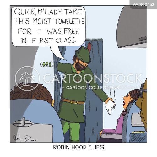 business class cartoon