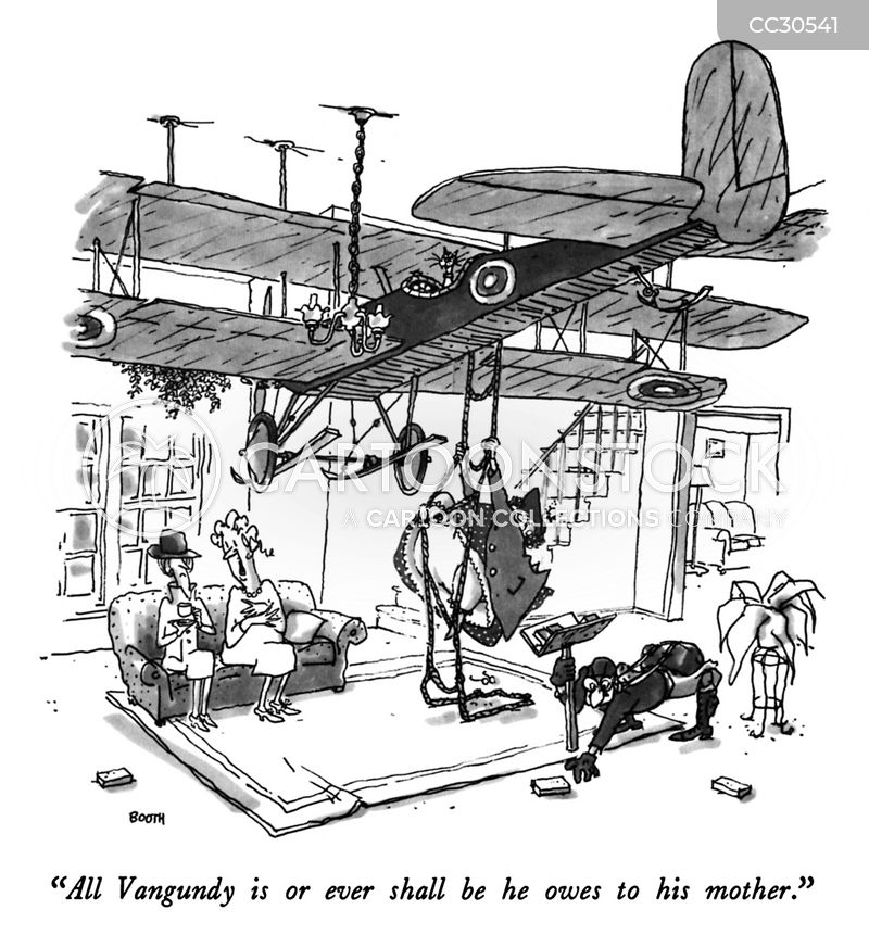 aircraft cartoon