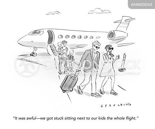 wealthy parents cartoon