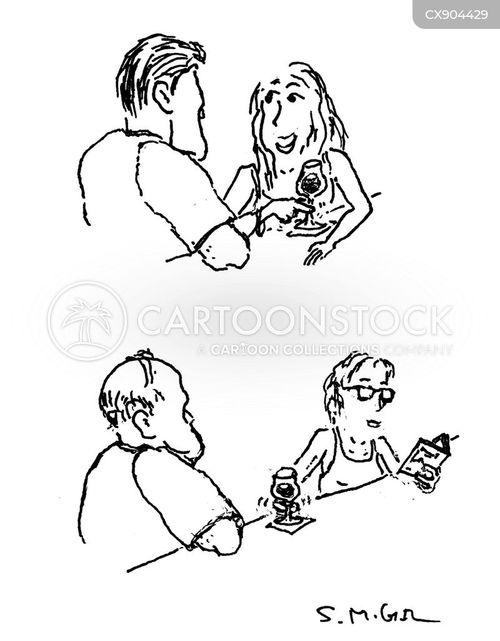 modern dating cartoon