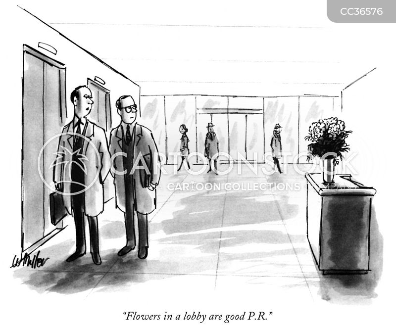 foyer cartoon