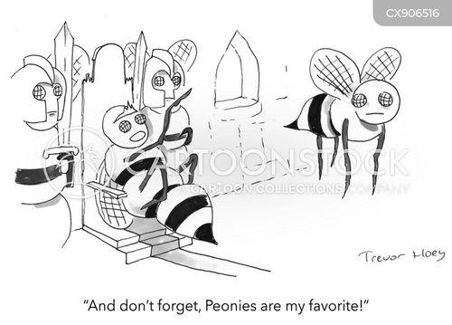beehives cartoon