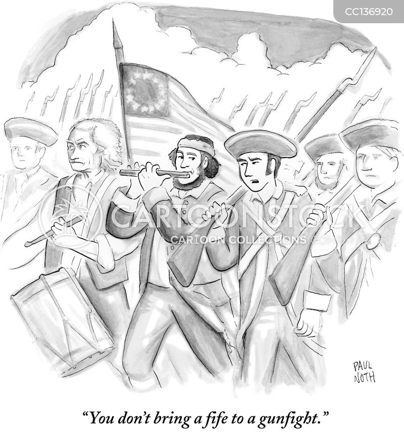 thirteen colonies cartoon