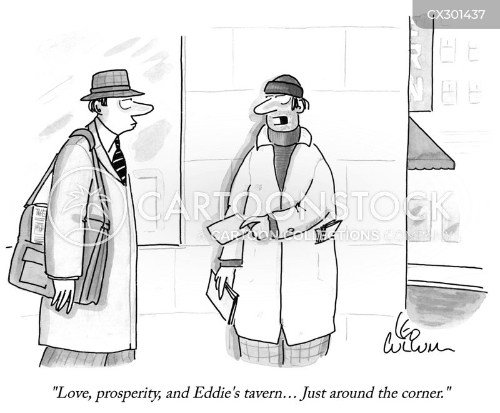 well wisher cartoon