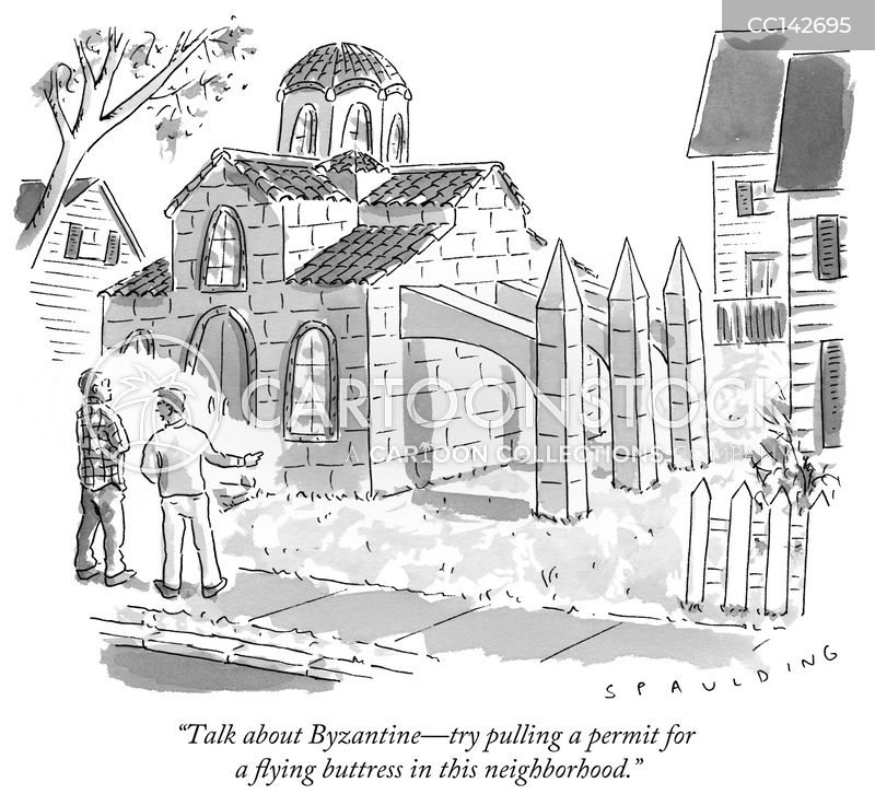 byzantine cartoon