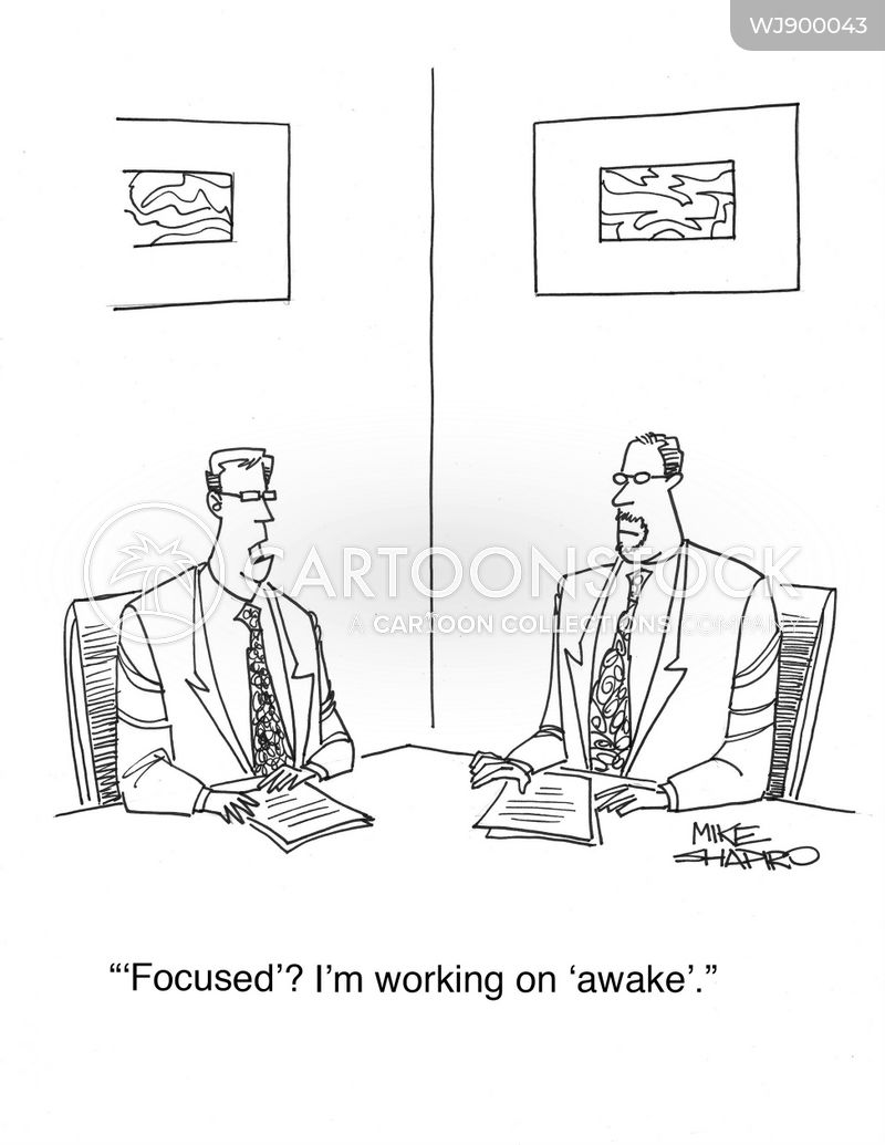 sleepiness cartoon
