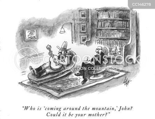 folk song cartoon
