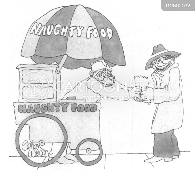 contraband goods cartoon