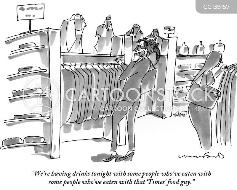 food snobs cartoon