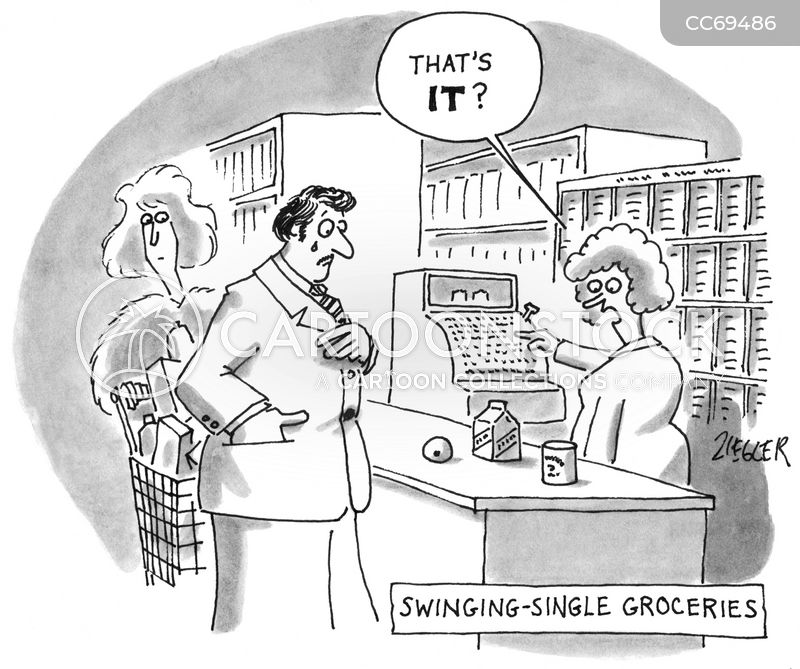 singles cartoon