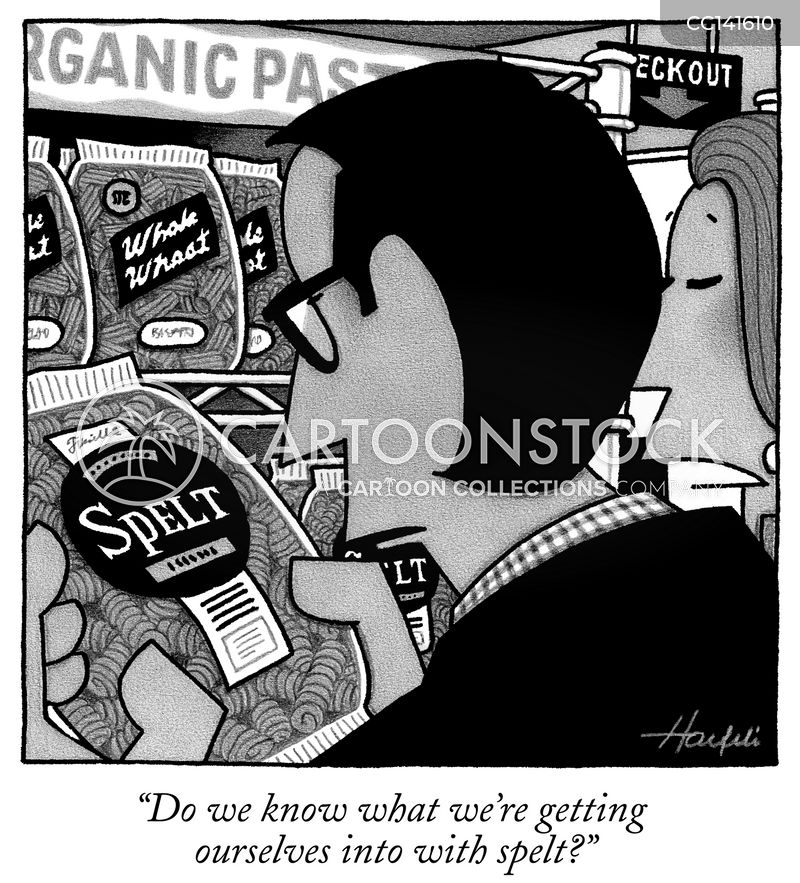 food store cartoon