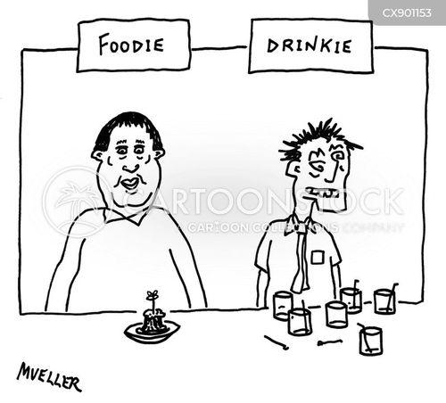 unhealthy habits cartoon