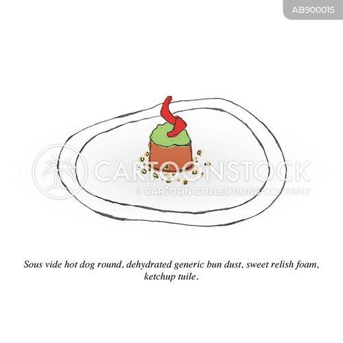 hot-dogs cartoon