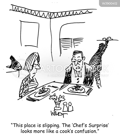 food critics cartoon