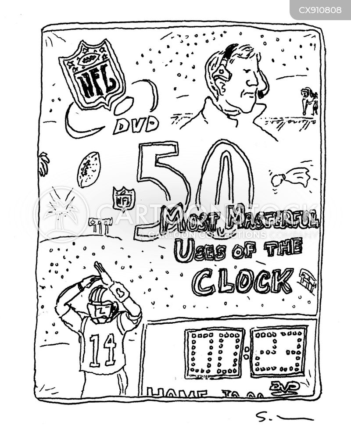football leagues cartoon