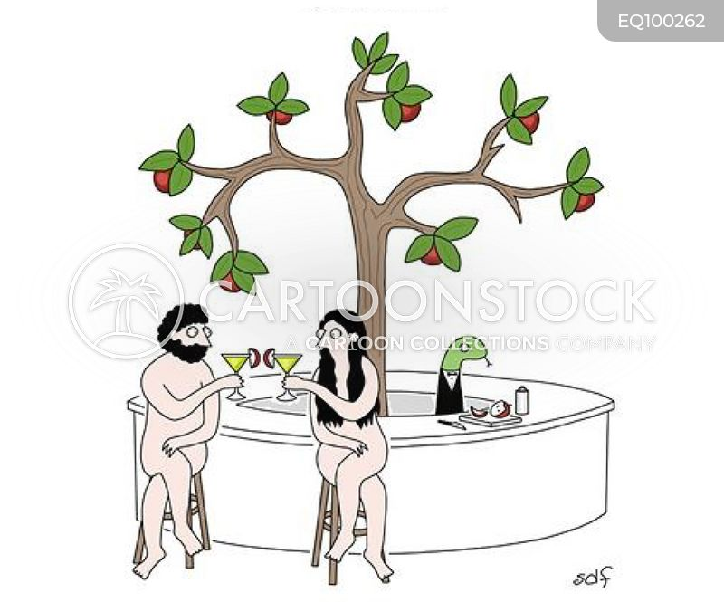 forbidden fruits cartoon