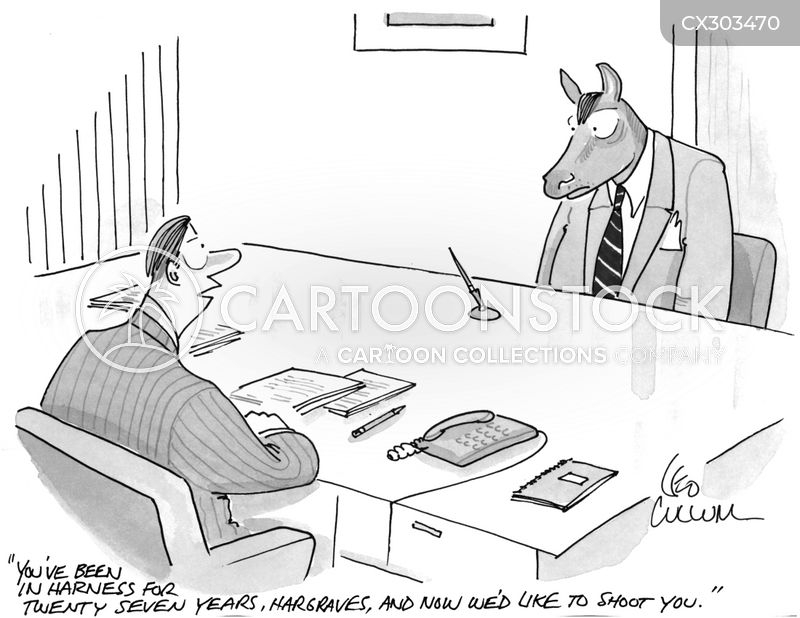 white collar jobs cartoon
