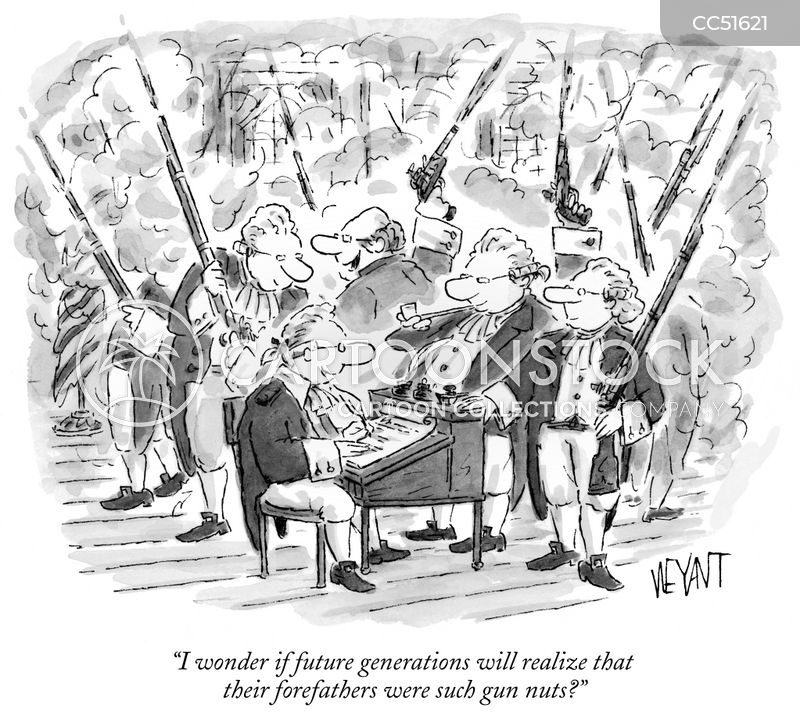 forefathers cartoon