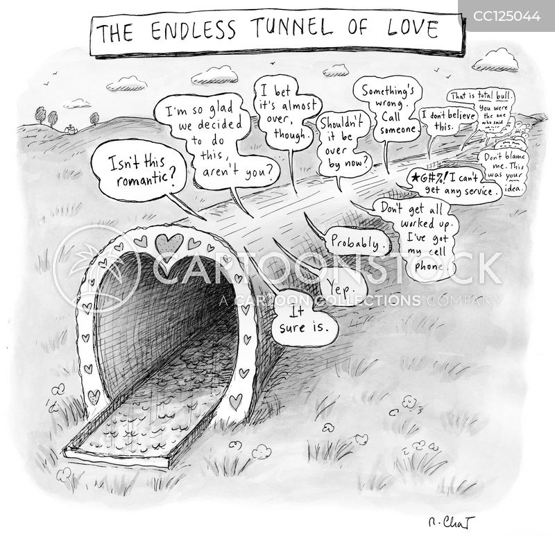 tunnels cartoon