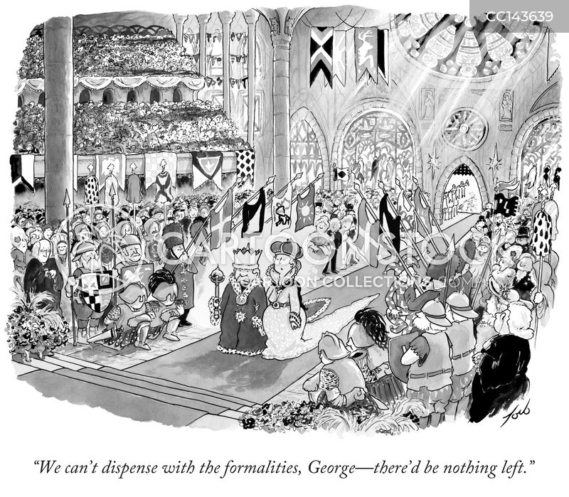 royal weddings cartoon