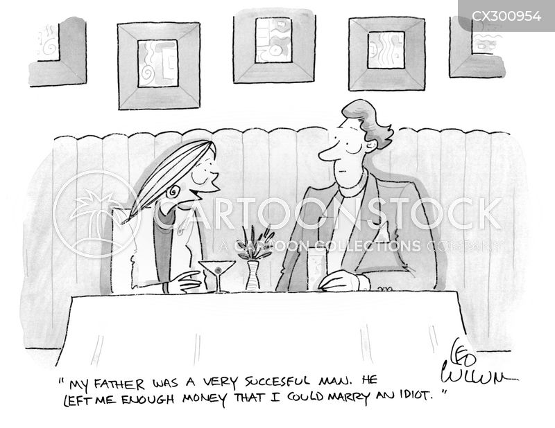 Inheritances cartoon