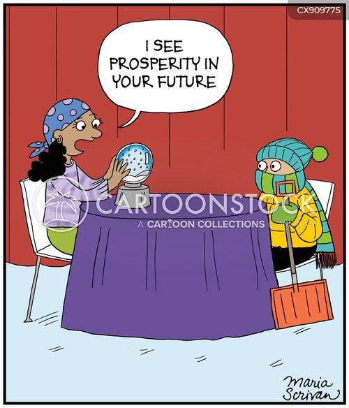 prosperous cartoon