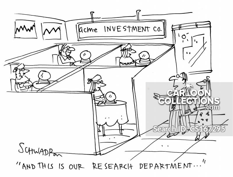 research development cartoon