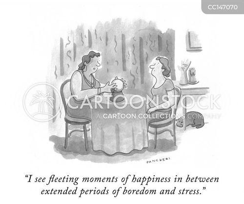 fortune telling cartoon