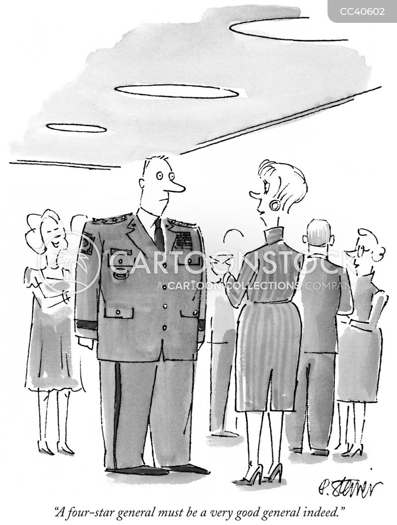 man in uniform cartoon