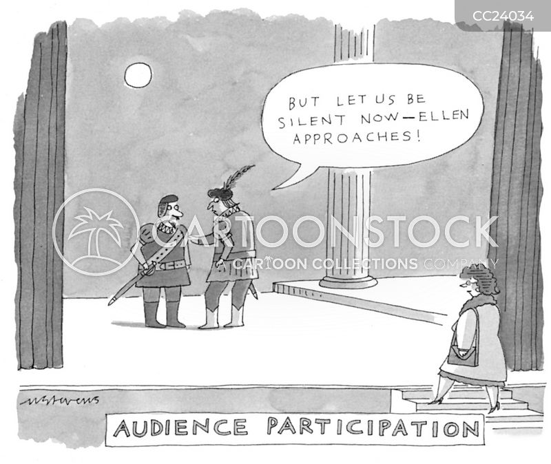 Audience Participation cartoon