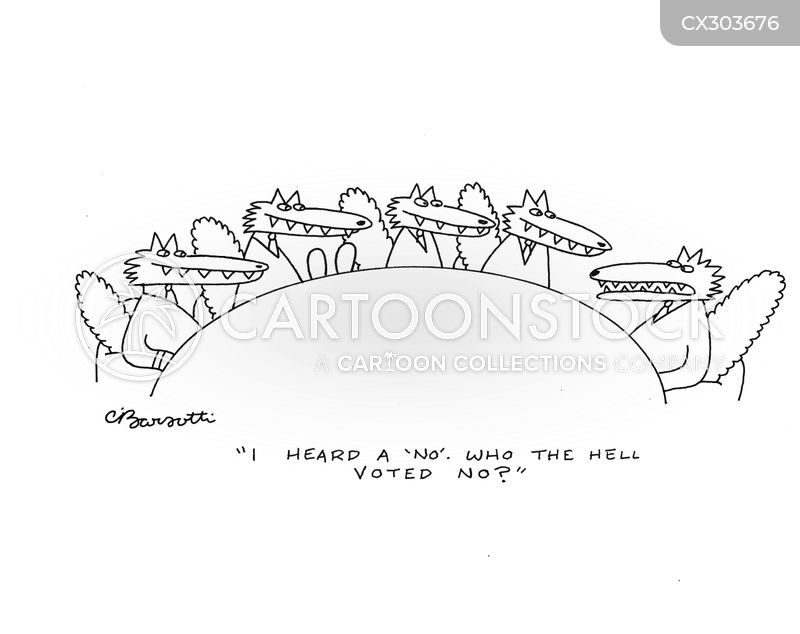 board votes cartoon
