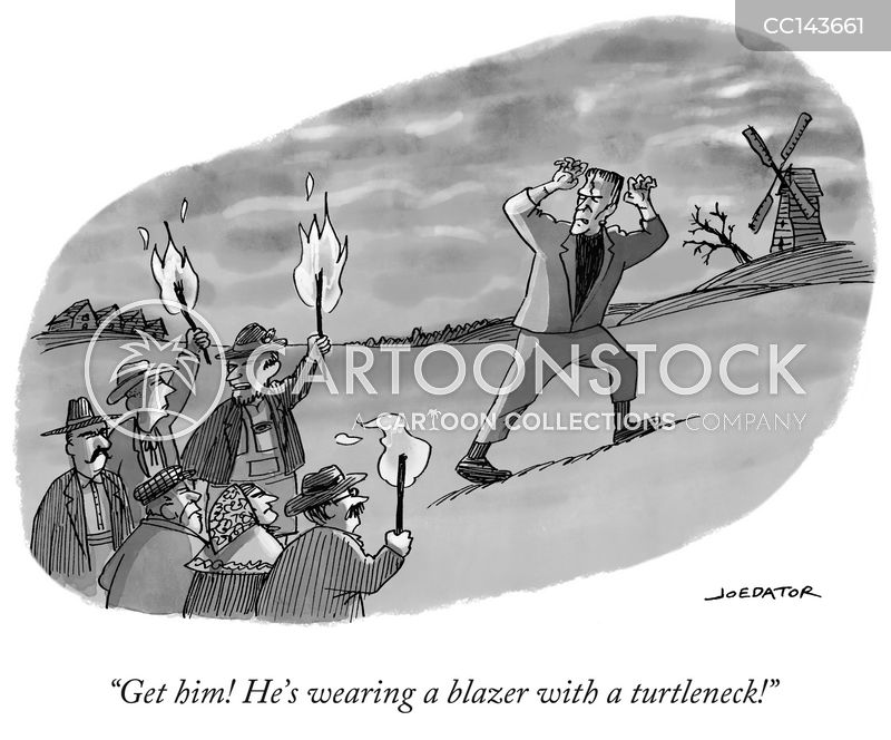 blazer cartoon