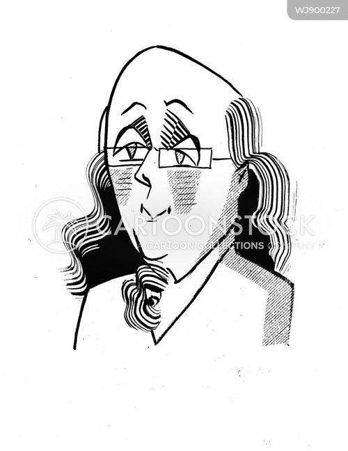 founding father cartoon