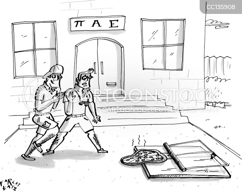 College Fraternity cartoon