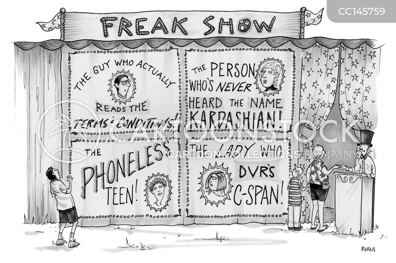 freak cartoon