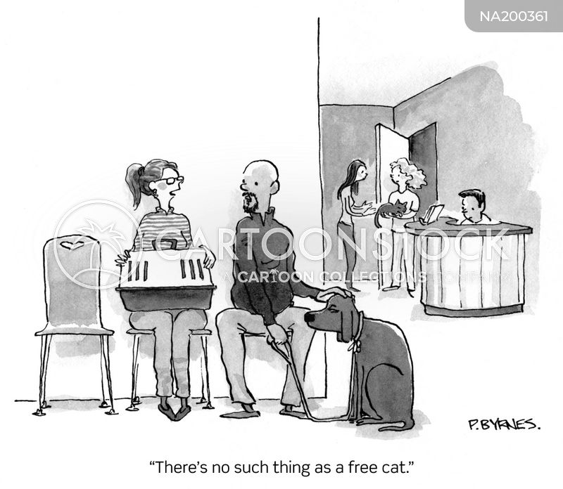 No Such Thing As A Free Lunch cartoon