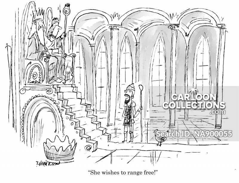 royal audience cartoon