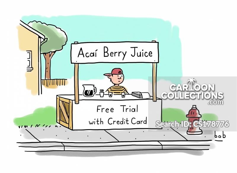 free trial cartoon