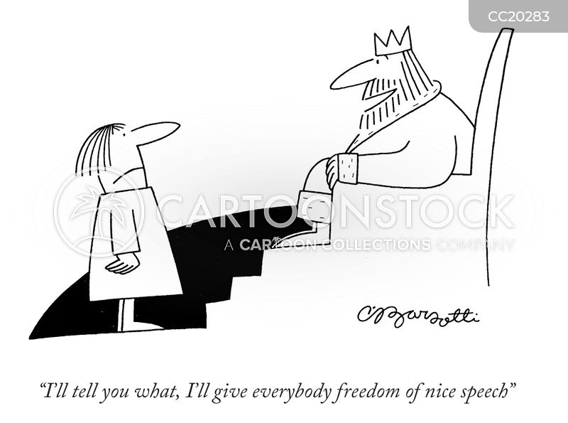 freedom cartoon