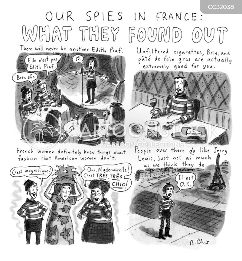 spying cartoon