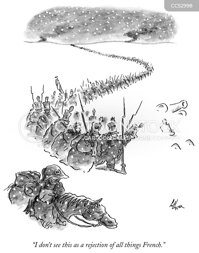 french army cartoon